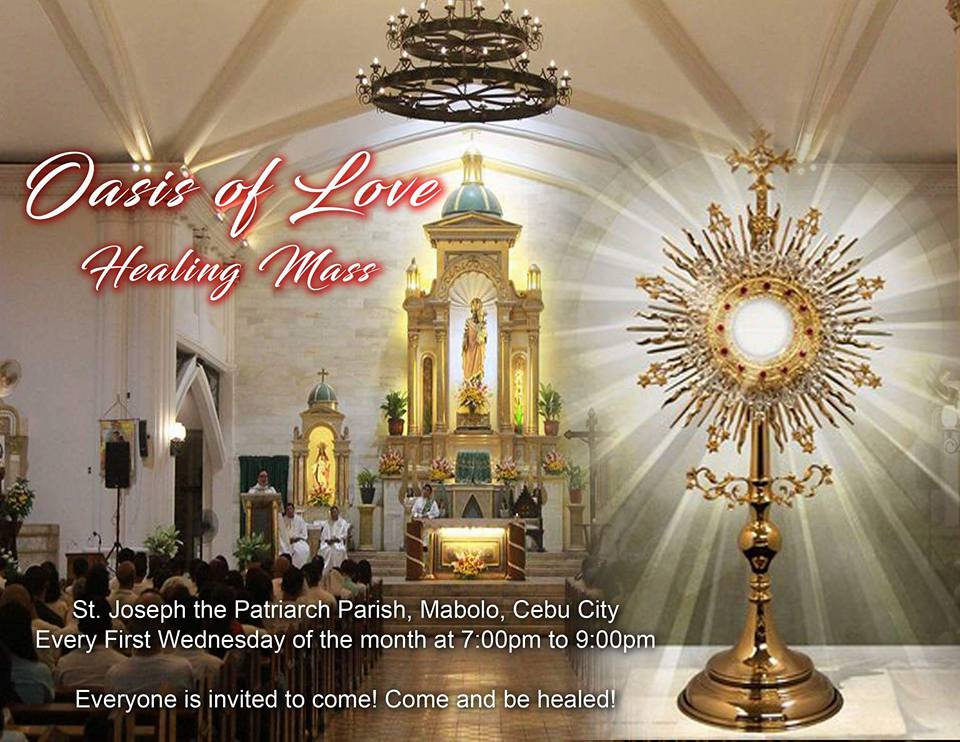 Oasis of Love healing mass